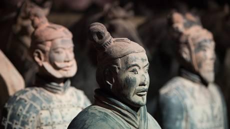 FILE PHOTO: Replicas of the Terracotta Army figures  © Global look Press / Sebastian Kahnert