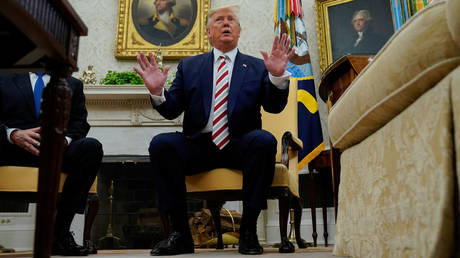 Trump says he could support Russia's return to G8