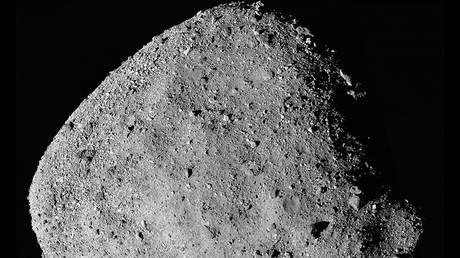 FILE PHOTO: A mosaic image of an asteroid © Reuters / NASA / Goddard / University of Arizona