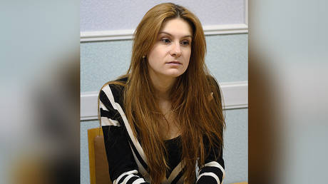 FILE PHOTO Maria Butina © Wikimedia Commons / Pavel Starikov