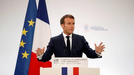 Emmanuel Macron. ©  Reuters / Pool / Yoan Valat