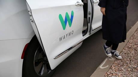 Waymo, Google's self-driving car developer (file photo)