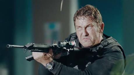 Screenshot from official trailer Angel Has Fallen (2019) dir. Ric Roman Waugh, Summit Entertainment, Lionsgate and Millennium Media present, a Millennium Films/G-Base production