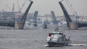 About 70 Russian combat ships & 58 aircraft take part in large-scale Baltic Sea drills