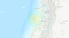 6.8 quake strikes off coast of central Chile, shakes Santiago