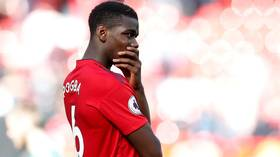 Speculation over Paul Pogba's Manchester United future intensifies after friendly absence