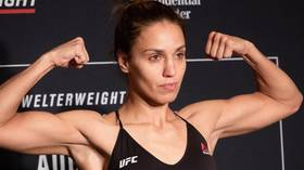 Antonina Shevchenko claims first-ever submission victory after bloody battle at UFC Newark