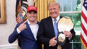 'Fight hard tonight Colby': Donald Trump issues good luck tweet to UFC star Covington