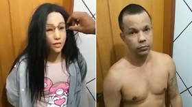 Convicted drug trafficker 'dolls up' to pass for his daughter in daring prison break (VIDEO)