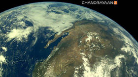 India's space agency releases first Earth pics taken by lunar mission (PHOTOS)
