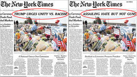 NYT changes front-page mass shootings headline after backlash from Dem 2020 hopefuls