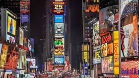 Times Square descends into PANIC after fears of GUNSHOTS (VIDEO)