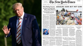 'FAKE NEWS': Trump slams NYT for changing headline to appease 'radical left Democrats'