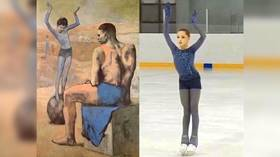 Picture perfect: Russian 13yo sensation Valieva wows figure skating world with Picasso routine