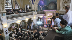 Last functioning synagogue in Vilnius, Lithuania closes in face of right-wing threats