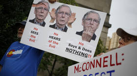 Truth against the rules? Twitter censors videos of protesters threatening to KILL Mitch McConnell