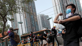 China demands US refrain from associating with 'violent elements' in Hong Kong