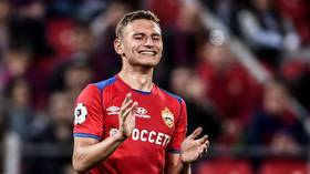 Highly-rated Russia forward Chalov set to stay at CSKA after club reject £23mn Crystal Palace offer