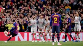 Messi free-kick stunner vs Liverpool wins UEFA goal of the season (VIDEO)