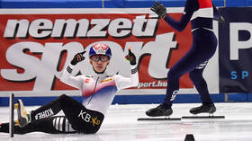South Korean Olympic champion banned for pulling down teammate's pants