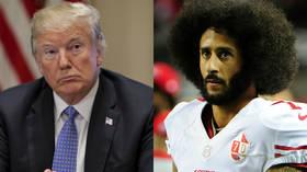'If he's good enough': Trump says he would 'love' Kaepernick NFL return