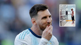 Messi's extravagant barbecue sends Twitter into overdrive (VIDEO)