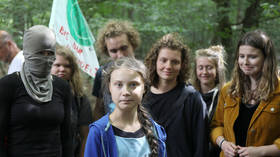'Feels wrong?' Elites' darling Greta Thunberg poses next to German 'eco-extremist'