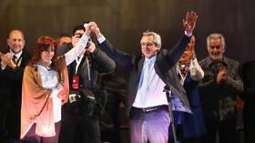 Argentina's Alberto Fernandez & Cristina Kirchner crush President Macri in 'preliminary elections'