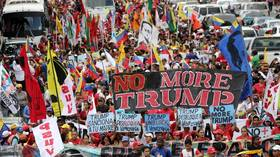 MSM ignores massive anti-sanctions 'No More Trump' protest rallies in Venezuela (VIDEOS)