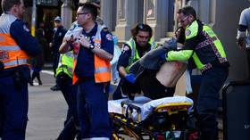 Man goes on stabbing rampage in Sydney, shouts 'Allahu Akbar' & 'shoot me' (VIDEO)