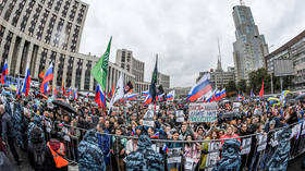 Senator slams Moscow police for using 'excessive force' to break up unsanctioned protests