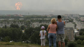 No, this Russian family is not looking at a nuclear explosion near their city, dear MSM viewers
