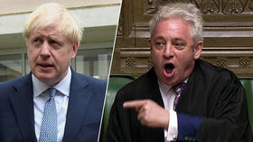Order! Speaker Bercow vows to fight BoJo 'with every breath' to keep Parliament running