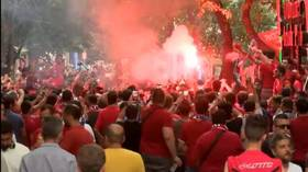 UEFA Super Cup Final: Liverpool fans party in the streets of Istanbul ahead of Chelsea clash (VIDEO)