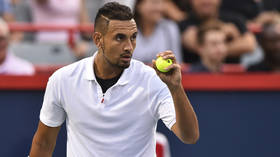 'You're a f**king tool!' Nick Kyrgios smashes rackets, explodes at umpire and spits (VIDEO)