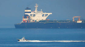 US tries to stop Gibraltar's planned release of seized Iranian supertanker