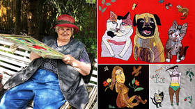 Eccentric embroidery propels 81yo dementia sufferer to Instagram stardom (PHOTOS)
