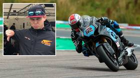 'I could see my house!' Injured British Superbike racer shares footage of spectacular crash (VIDEO)