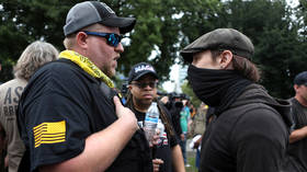 VIDEOS show Antifa attacking bus, cornering right-wing protesters as Portland rally turns violent