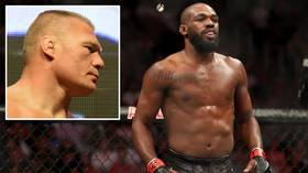 'I'll embarrass him': Jon Jones predicts easy win in potential UFC bout with WWE star Brock Lesnar