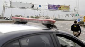 Brazil bus hijacker shot dead by police sniper, hostages released
