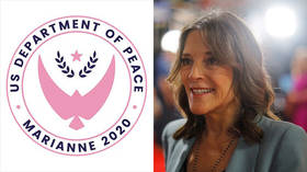 Make love, not war? Department of PEACE plan unveiled by Marianne Williamson, and Twitter loves it