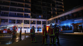 1 dead, 8 injured after huge blaze at Paris hospital (VIDEOS)