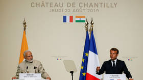India & Pakistan must solve Kashmir crisis among themselves, without 3rd party provocations – Macron