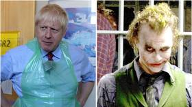 'I'm an agent of chaos': Сartoon depicts Boris Johnson as Heath Ledger's Joker