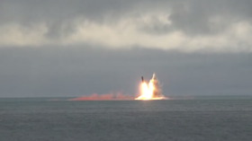 WATCH Russian nuclear-powered sub test-fire ballistic missile in high seas