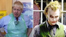 'I'm an agent of chaos': Сartoon depicts Boris Johnson as Heath Ledger's Joker