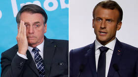 Bolsonaro & Macron trade insults as Amazon burns