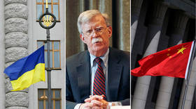 Bolton wages turf war with China on Ukraine trip as he scrambles to block Motor Sich deal