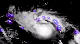 Stunning but deadly: Satellite imagery shows Hurricane Dorian sparkling as it approaches US (VIDEO)
